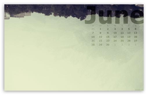 Download June Calendar UltraHD Wallpaper