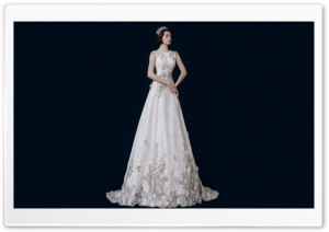 Vintage Wedding Dress, Bride