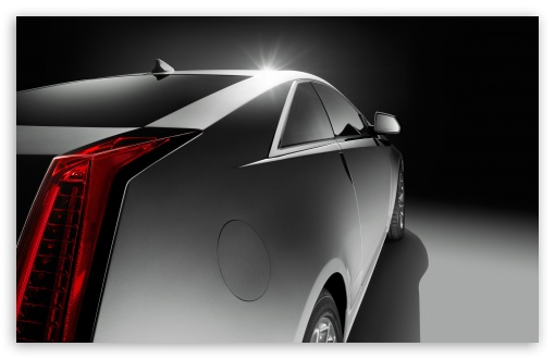 Download Cadillac CTS Coupe Side UltraHD Wallpaper