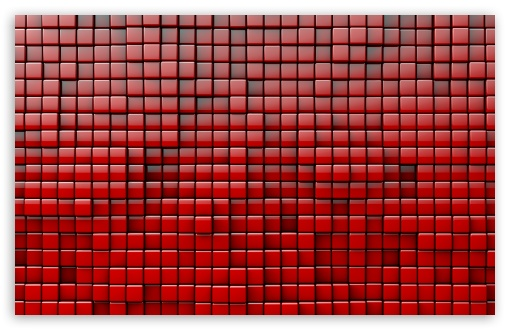 Download Red Cubes Background UltraHD Wallpaper