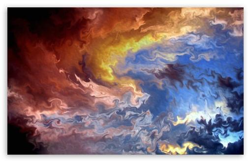 Download Colorful Reflection UltraHD Wallpaper