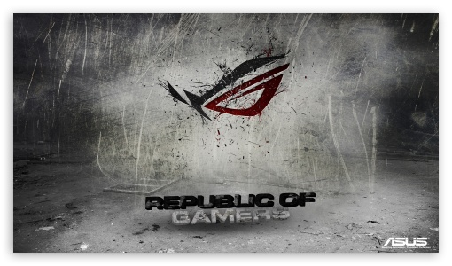 Download Asus Republic Of Gamers Background UltraHD Wallpaper