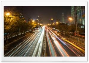Evening Traffic in Beijing