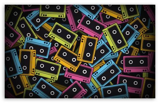 Download Audio Tapes UltraHD Wallpaper