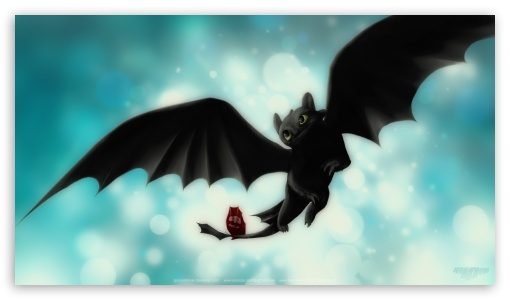 Download Night Fury Toothless UltraHD Wallpaper