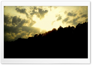Sunset Over The Hill