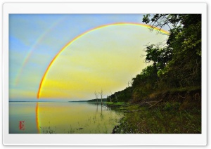 Rainbow, Clinton Lake
