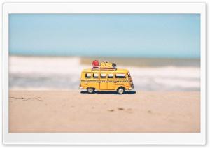 Hippie VW Bus Toy