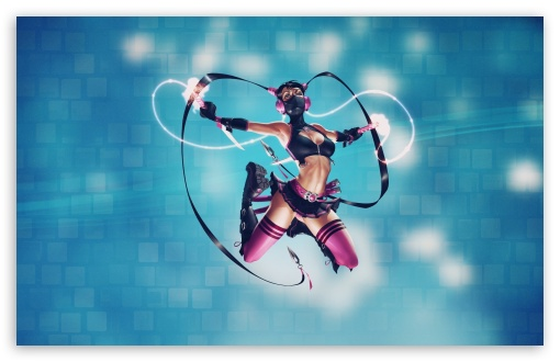 Download Sexy Ninja Art UltraHD Wallpaper