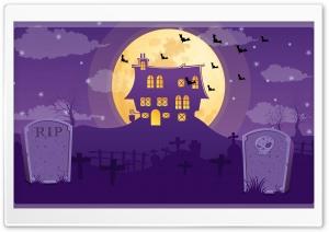 Halloween Night, Full Moon,...