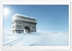 Triumphal Arch, Winter