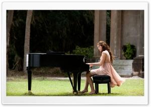 Miley Cyrus Playing Piano