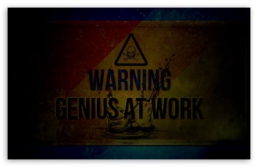 Download Genius UltraHD Wallpaper