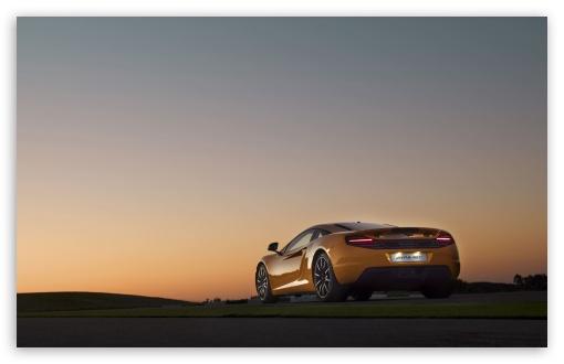 Download McLaren MP4 12C Rear UltraHD Wallpaper