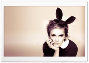 Emma Watson With Bunny Ears