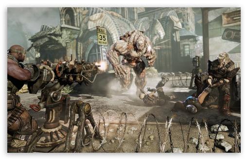 Download Gears Of War 3 Screenshot UltraHD Wallpaper