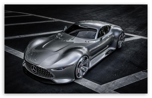 Download Mercedes Benz AMG Vision Gran Turismo  Supercar UltraHD Wallpaper