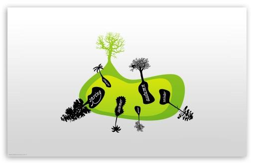 Download Trees Seasons UltraHD Wallpaper