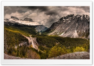 Mountain Road, Snow Clouds