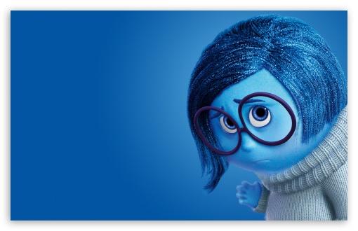Download Inside Out Sadness - Disney, Pixar UltraHD Wallpaper