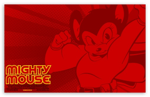 Download Mighty Mouse UltraHD Wallpaper