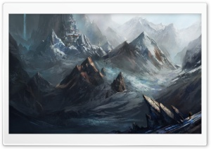 Mountain City Painting