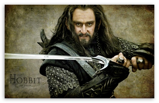 Download Thorin Oakenshield, The Hobbit An Unexpected... UltraHD Wallpaper