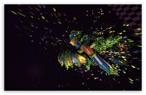 Download Disintegration Art UltraHD Wallpaper