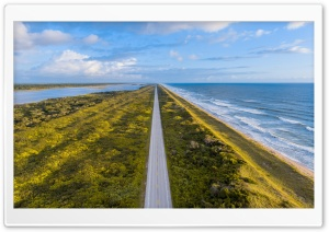 Long Road Aerial Photography