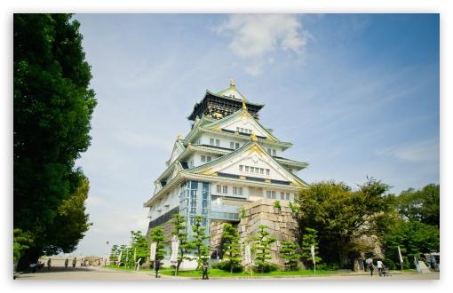Download Osaka Castle UltraHD Wallpaper