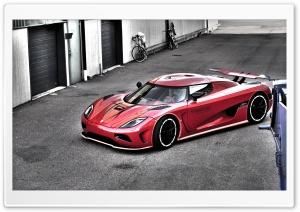 Red Koenigsegg HDR