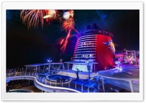 Fireworks On The Disney Cruise