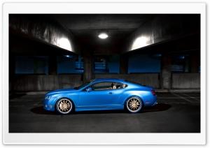 Bentley Continental GT Sideways