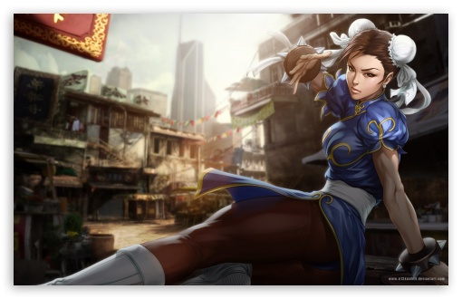 Download Street Fighter Chun Li UltraHD Wallpaper