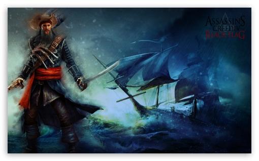Download Assassins Creed IV Black Flag Blackbeard UltraHD Wallpaper