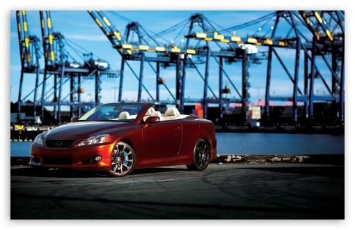 Download Lexus IS 350C UltraHD Wallpaper