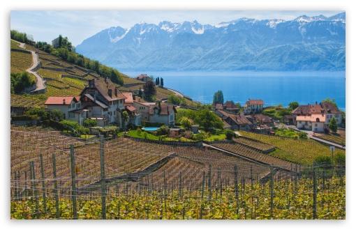 Download Lake Geneva, Switzerland UltraHD Wallpaper