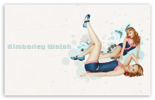 Download Kimberley Walsh Pin-Up Girl UltraHD Wallpaper