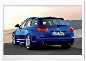 Audi RS6 Avant Car 8