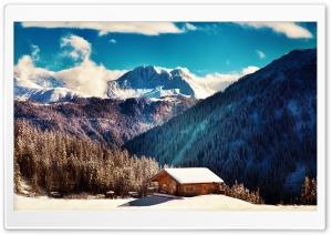 Mountain Chalet, Winter