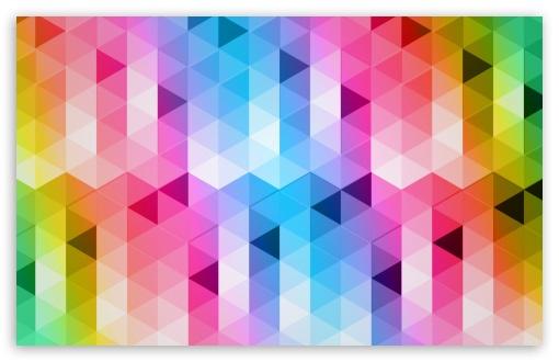 Download Triangles Design UltraHD Wallpaper