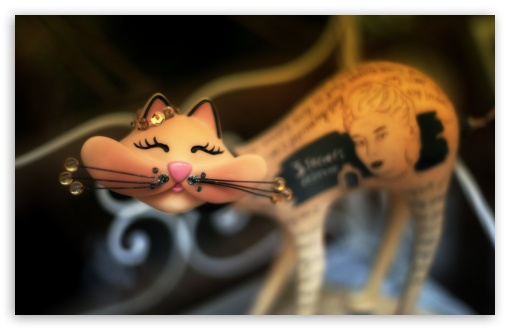 Download Urban Cat Art UltraHD Wallpaper