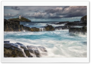 Godrevy Island in St Ives,...