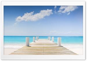 Beach, Grace Bay,...