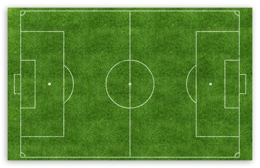 Download Football Pitch UltraHD Wallpaper