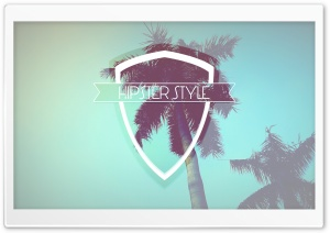 Hipster Style Badge