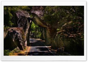 Spectacular Rock Tunnel
