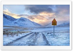 Impassable Road Winter