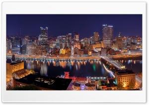 Pittsburgh City Panorama at...