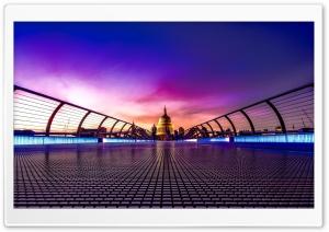 Millennium Bridge London, UK